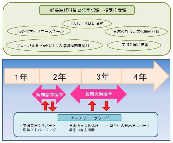 グローバル人材育成学習プログラム 図イメージ1(少し小さめ)